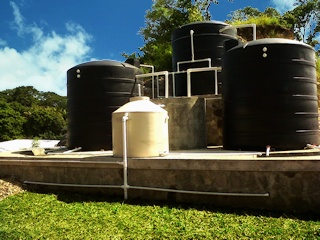 Anaerobic treatment plant installed in Garbal S.A. de C.V.